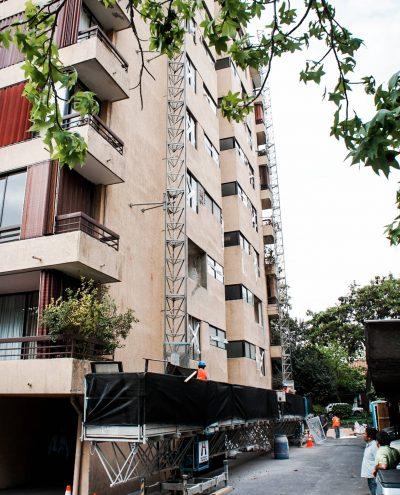 Reparación estructural Edificio Carmen Silva