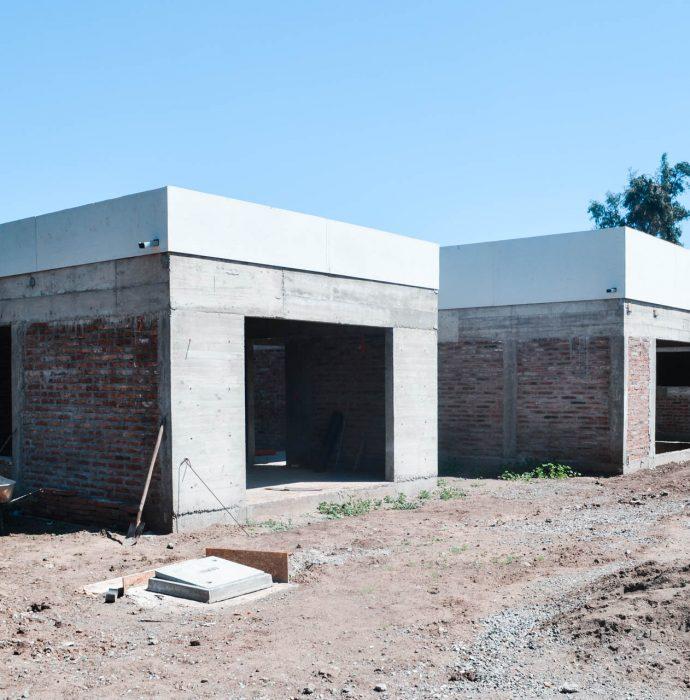 """Construcción obra gruesa """"Casa Patio"""""""